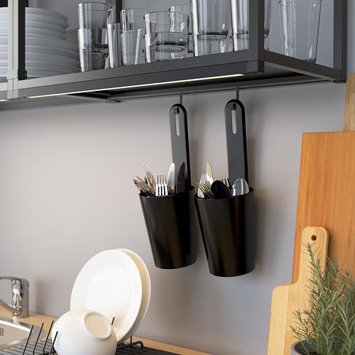 ENHET mueble de baño abierto para pared, 60x15x75cm