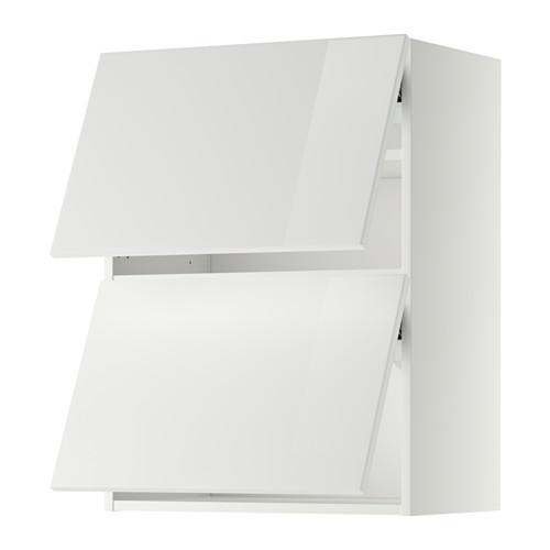 METOD armario de pared puertas abatibles