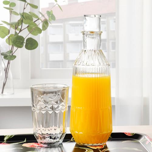 SÄLLSKAPLIG botella+tapón