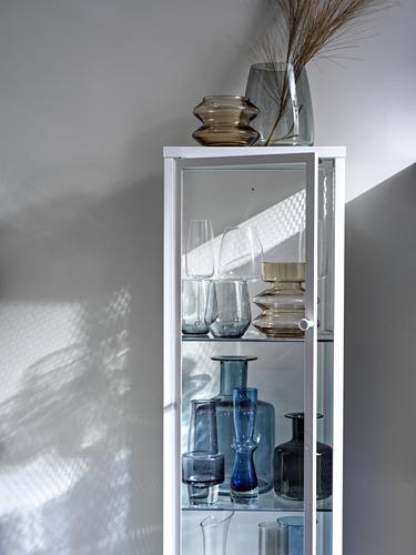 BAGGEBO armario con puertas vidrio