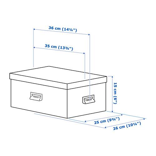 TJOG caja con tapa, 25x15cm