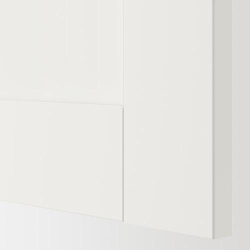 ENHET mueble de baño abierto y cerrado para pared, 80x30x150cm