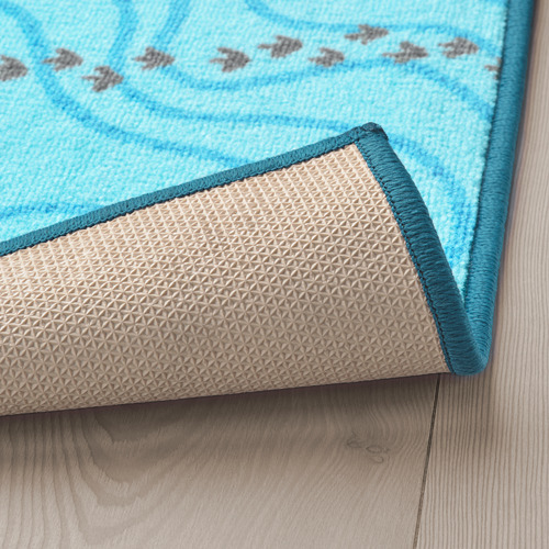 JÄTTELIK alfombra, 133x100cm