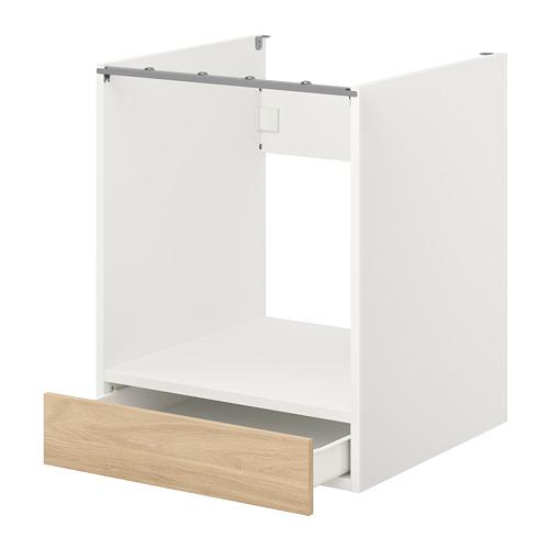 ENHET armario bajo para horno con cajón
