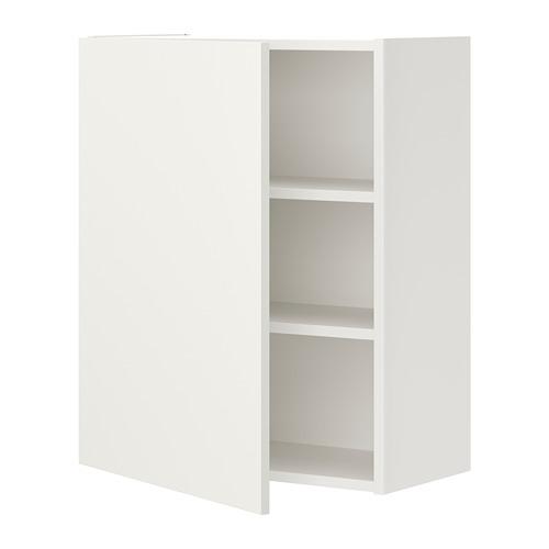 ENHET armario pared con puerta y estantes