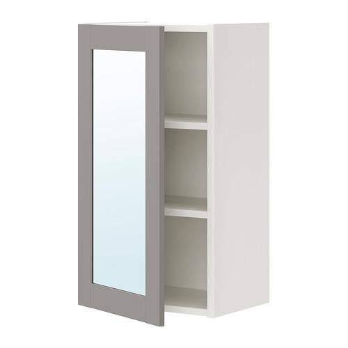 ENHET mueble de baño para pared, incluye 2 estantes, 40x30x75cm