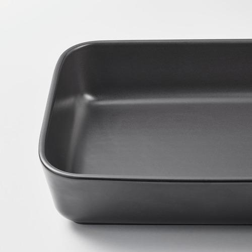 LYCKAD juego de 2 fuentes de horno/servir de 23x15cm  y 31x21cm