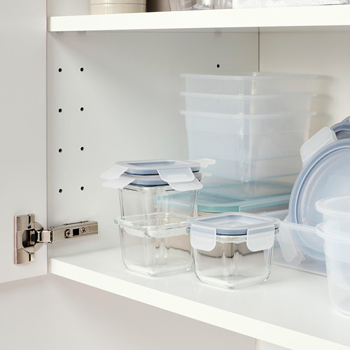 IKEA 365+ bote con tapa, juego  3 unidades, 180 ml cada uno