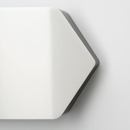 BÄGAREN lámpara de pared LED y pizarra blanca