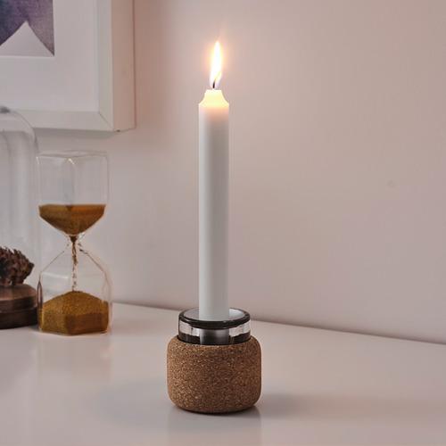 FÖRENLIG candelabro/portavela