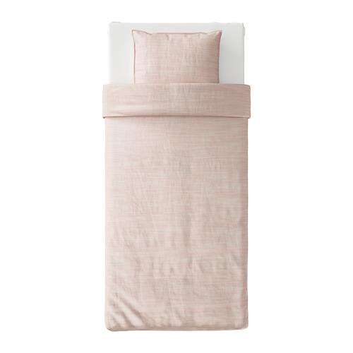 SKOGSALM funda nórdica y funda  almohada, 152 hilos, 80 y 90cm