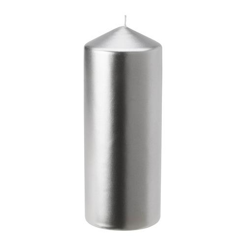 FENOMEN vela gruesa sin perfume, 20cm de altura