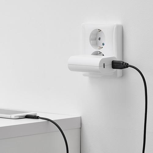 LILLHULT USB tipo A para lightning , 150cm