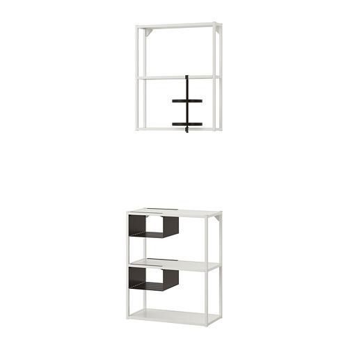 ENHET almacenaje abierto para suelo o pared, 60x30x150cm