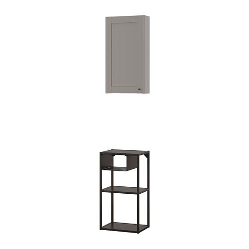 ENHET combinación almacenaje para pared, 40x30x150cm