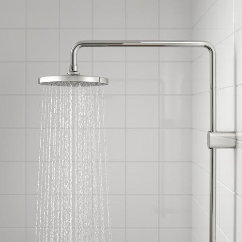 BROGRUND juego de ducha fija con ducha de mano