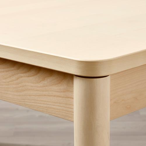 RÖNNINGE mesa extensible, mínimo extensión 155cm y máximo extensión 210cm