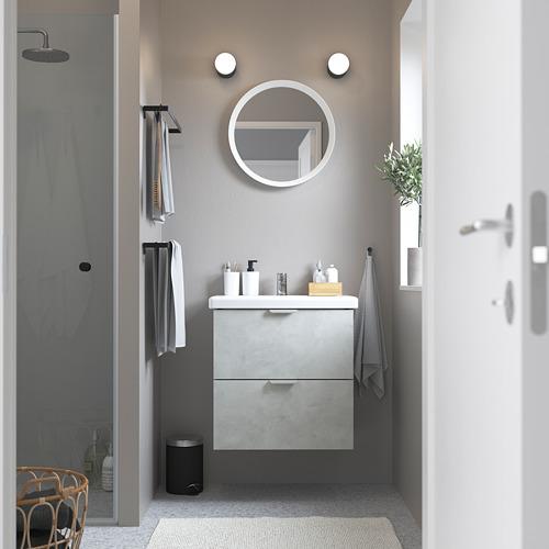 ENHET armario/lavabo 2 cajones