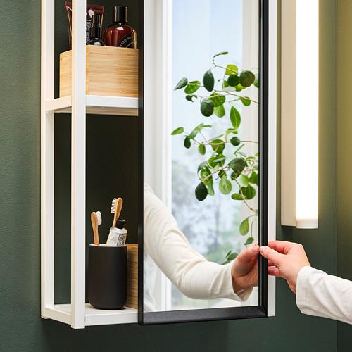 ENHET mueble de baño abierto para pared, 40x15x75cm