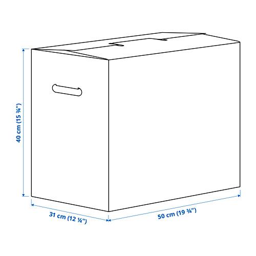 DUNDERGUBBE caja mudanza