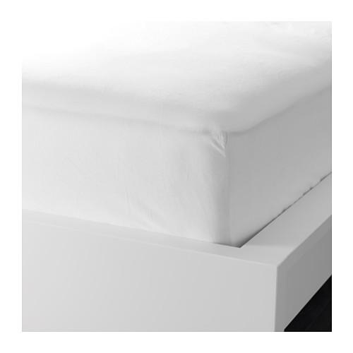DVALA sábana bajera ajustable, 90x200cm, 152 hilos