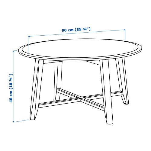 KRAGSTA mesa de centro