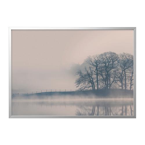 BJÖRKSTA marco e imagen, 140x100cm