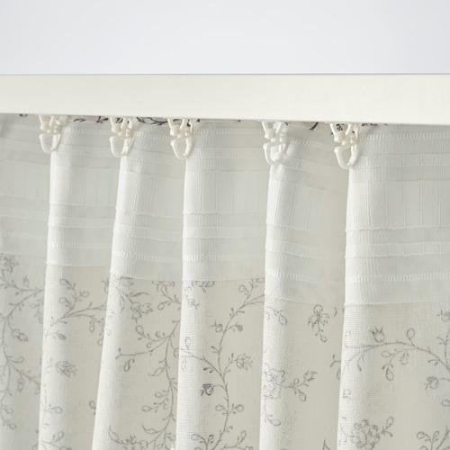 BRANDNÄVA cortina, 1par