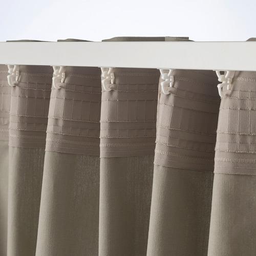 KALKFLY cortina, 1 par, 145x300cm