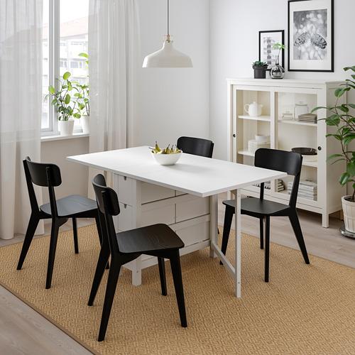 NORDEN/LISABO mesa extensible con 4 sillas, máximo extensión 152cm