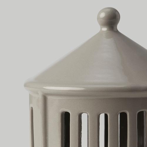 STRÅLA adorno mesa LED, 10cm de diámetro