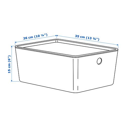 KUGGIS caja con tapa
