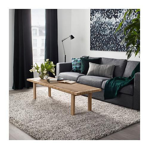 VINDUM alfombra, pelo largo, 133x180cm