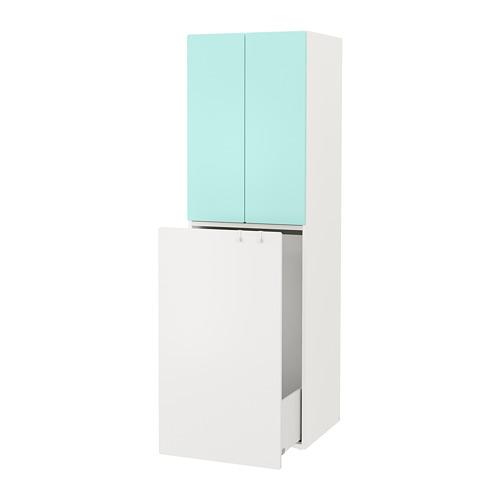 SMÅSTAD armario con módulo extraíble, 60x55x196cm