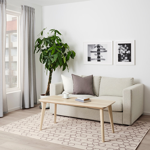RINDSHOLM alfombra, lisa, 160x230cm