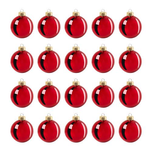VINTER 2020 bola árbol Navidad, juego de 20, 6cm de diámetro