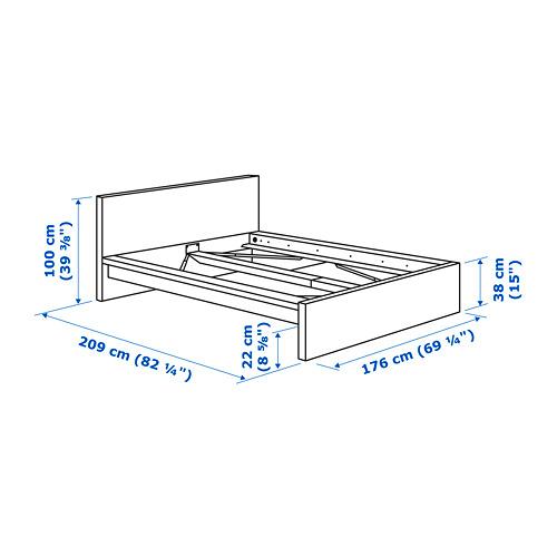 MALM estructura de cama