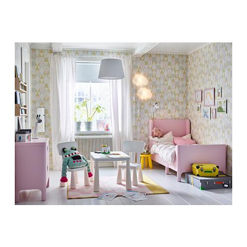 BUSUNGE cama extensible, rosa