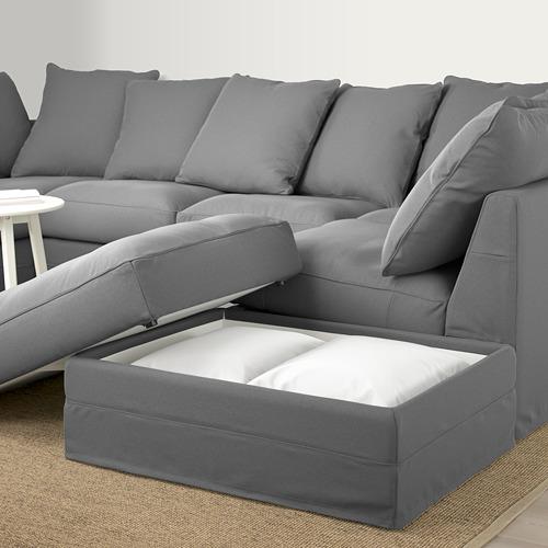 GRÖNLID sofá 6 plazas en U