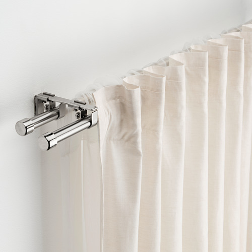BEKRÄFTA barra cortina doble