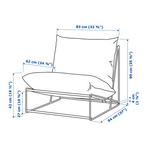 HAVSTEN sillón int/ext