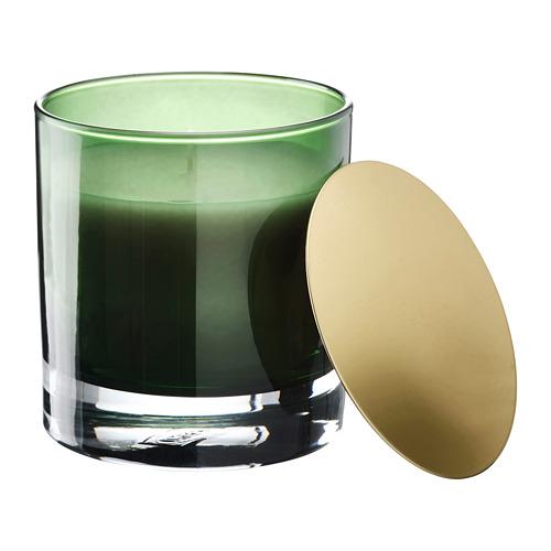 OMRÅDE vela aromática en vaso