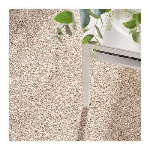 TYVELSE alfombra, pelo corto, 133x195cm