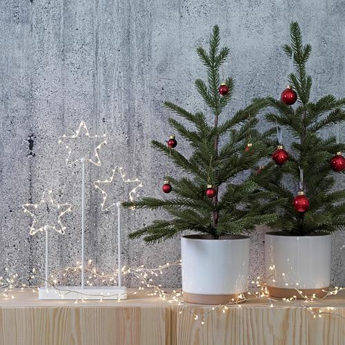 VINTER 2020 árbol de navidad artificial con maceta, 55cm de altura