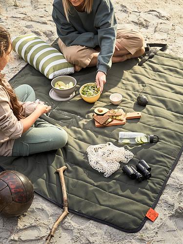 FJÄLLMOTT manta picnic, 130x170cm