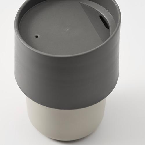 TROLIGTVIS taza portátil, 0,3 litros