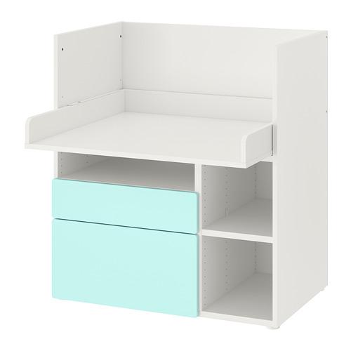 SMÅSTAD escritorio, 90x79x100cm