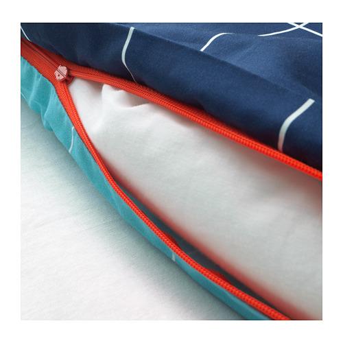MÖJLIGHET funda nórdica y funda almohada, 166 hilos, 80 y 90cm