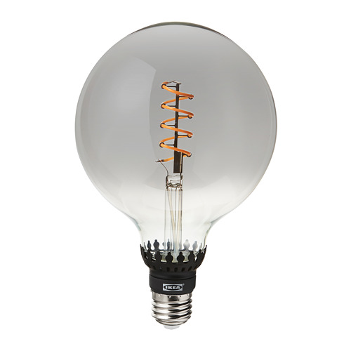 MARKFROST/ROLLSBO lámpara de mesa con bombilla decorativa