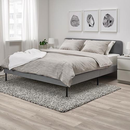 SLATTUM estructura cama tapizada